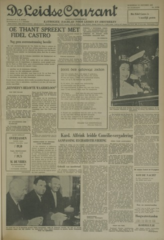 Leidse Courant 1962-10-31