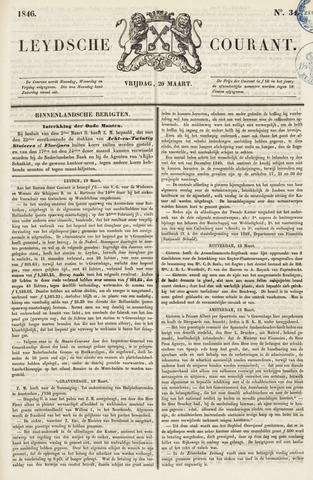 Leydse Courant 1846-03-20
