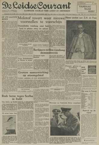 Leidse Courant 1954-02-18