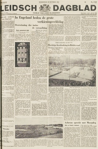 Leidsch Dagblad 1951-10-25