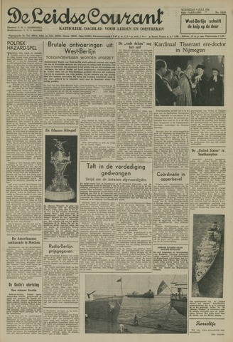 Leidse Courant 1952-07-09