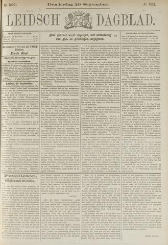 Leidsch Dagblad 1892-09-29