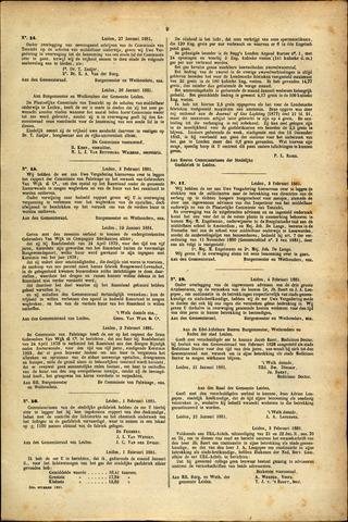 Handelingen van de Raad 1881-01-27