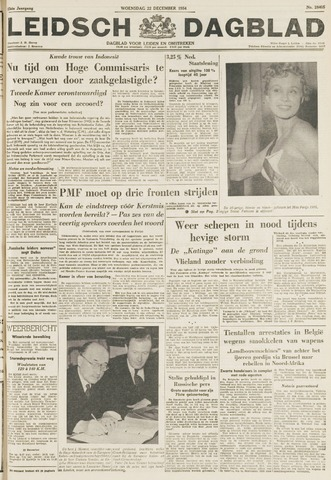 Leidsch Dagblad 1954-12-22