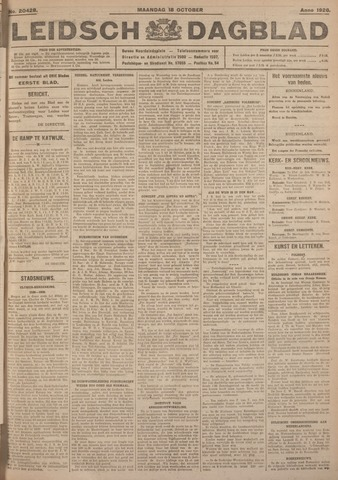 Leidsch Dagblad 1926-10-18