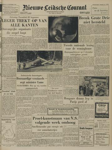 Nieuwe Leidsche Courant 1957-11-26