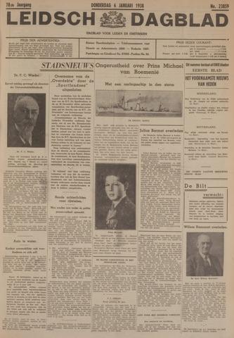 Leidsch Dagblad 1938-01-06