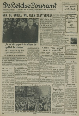 Leidse Courant 1958-05-20