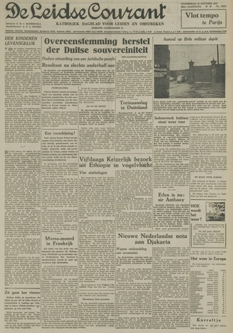 Leidse Courant 1954-10-21