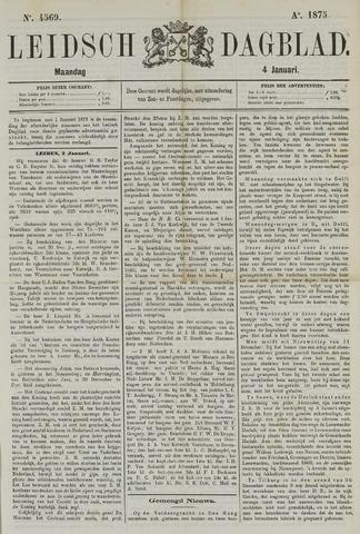 Leidsch Dagblad 1875-01-04