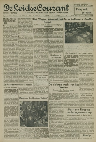 Leidse Courant 1952-03-26