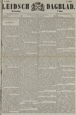 Leidsch Dagblad 1873-05-07