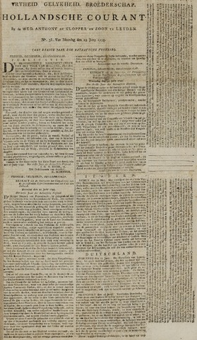 Leydse Courant 1795-06-29