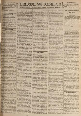 Leidsch Dagblad 1921-07-14