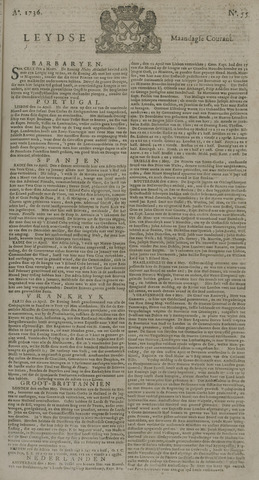 Leydse Courant 1736-05-07