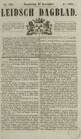 Leidsch Dagblad 1861-12-12