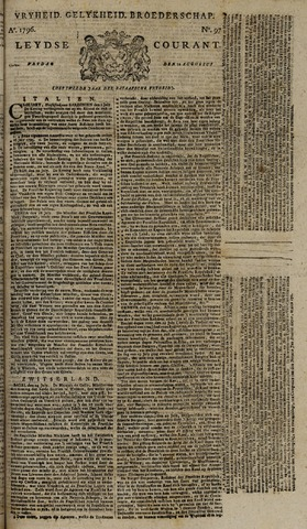 Leydse Courant 1796-08-12