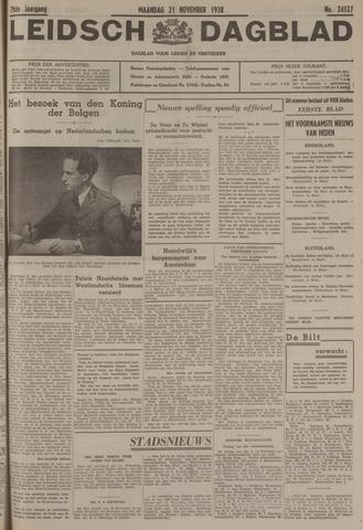 Leidsch Dagblad 1938-11-21