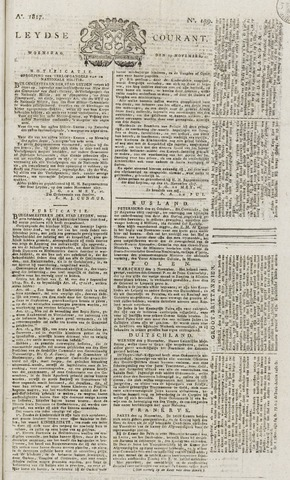 Leydse Courant 1817-11-19