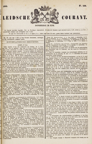 Leydse Courant 1883-06-28