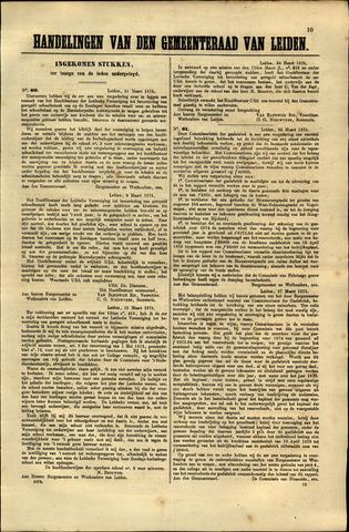 Handelingen van de Raad 1875-03-25