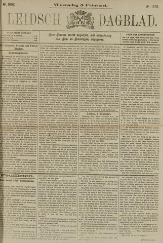 Leidsch Dagblad 1890-02-05