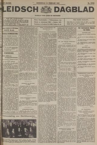 Leidsch Dagblad 1933-02-16
