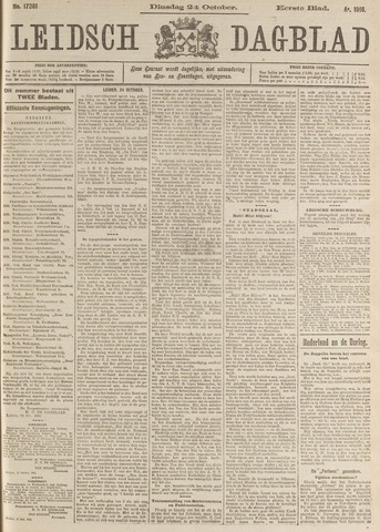 Leidsch Dagblad 1916-10-24