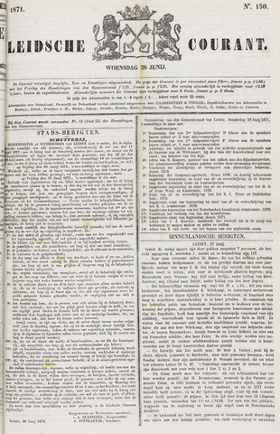 Leydse Courant 1871-06-28