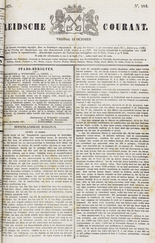 Leydse Courant 1871-10-13