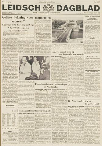 Leidsch Dagblad 1954-03-23