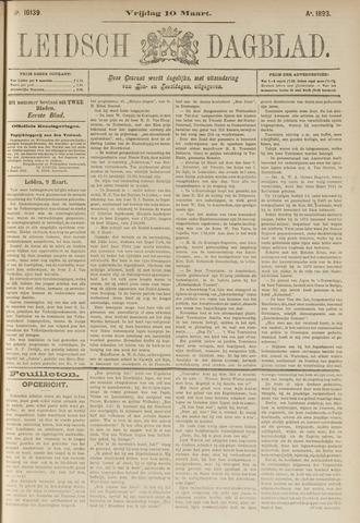 Leidsch Dagblad 1893-03-10
