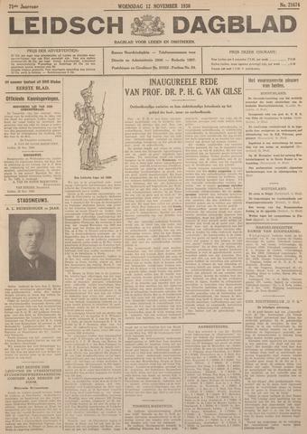Leidsch Dagblad 1930-11-12