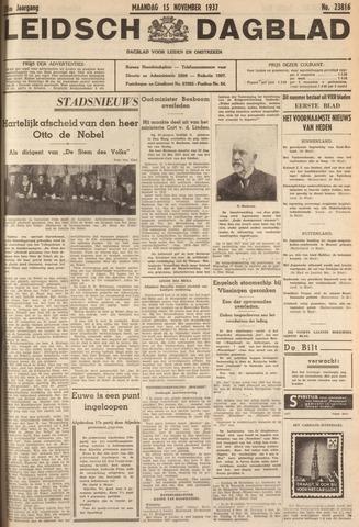 Leidsch Dagblad 1937-11-15