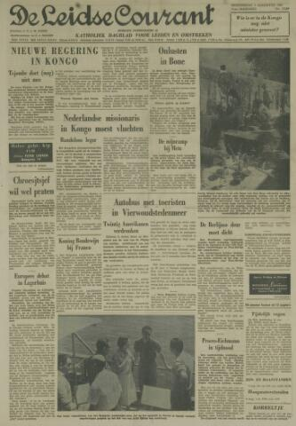 Leidse Courant 1961-08-03