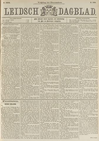 Leidsch Dagblad 1894-12-14