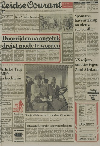 Leidse Courant 1985-07-09
