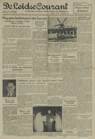 Leidse Courant 1951-01-29