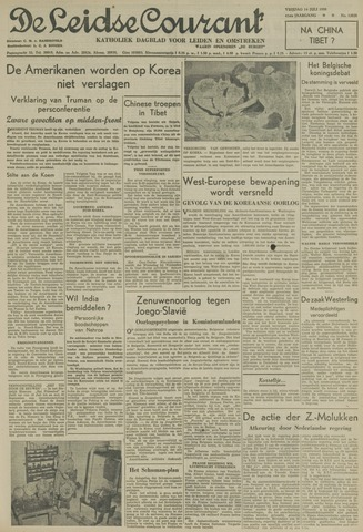 Leidse Courant 1950-07-14