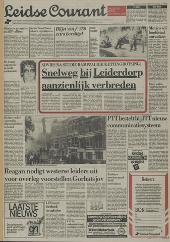 Leidse Courant 1985-10-01