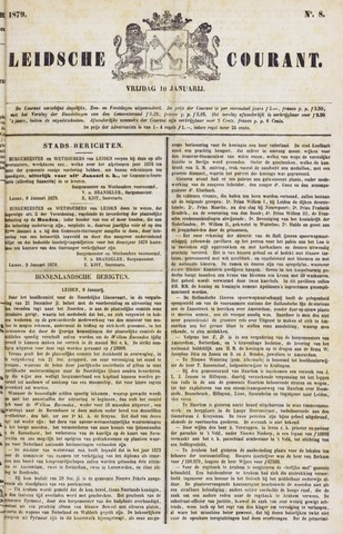 Leydse Courant 1879-01-10