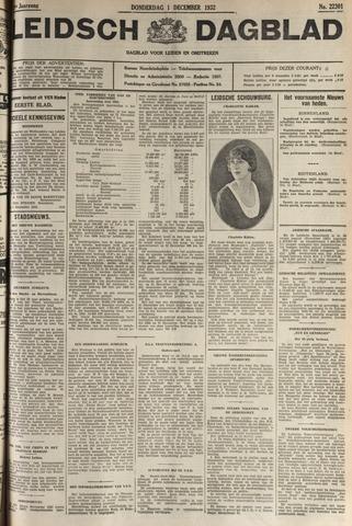 Leidsch Dagblad 1932-12-01