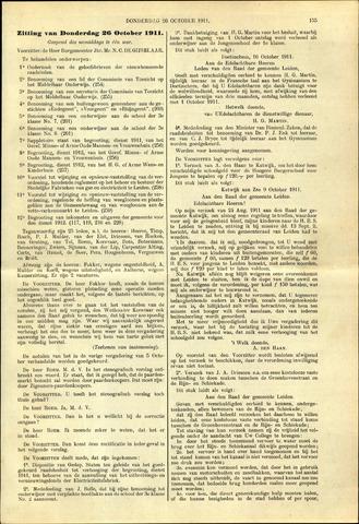 Handelingen van de Raad 1911-10-26