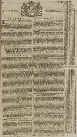 Leydse Courant 1770-01-26