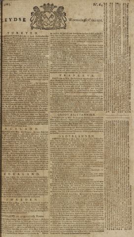 Leydse Courant 1771-05-29