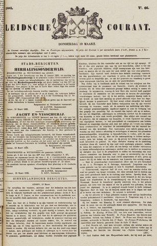 Leydse Courant 1885-03-19