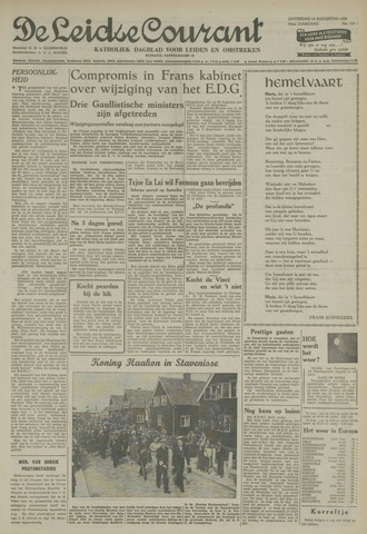Leidse Courant 1954-08-14