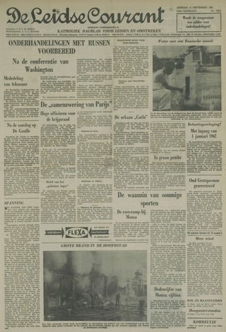 Leidse Courant 1961-09-12