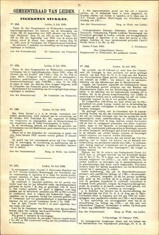 Handelingen van de Raad 1916-07-05