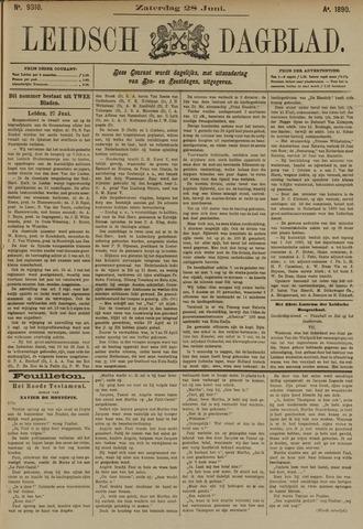 Leidsch Dagblad 1890-06-28
